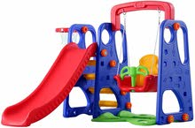 3 in 1 Swing, Slide, BasketBall Set For Kids , Brand New AED 350
