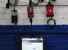 كهرباء و كشف بالكمبيوتر أعطال السيارات وإصلاحها