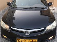 Honda Civic car for sale 2008 in Nakhl city