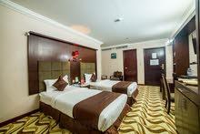 غرف فندقية فخمة للإيجار اليومي او الشهري