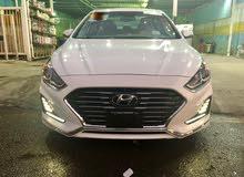 White Hyundai Sonata 2018 for sale