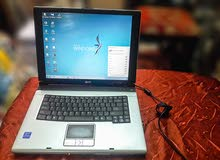 لابتوب Acer Aspire 3000 بحالة ممتازة جداً للبيع
