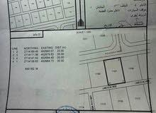 أرض للبيع مخطط111رقم القطعه1107