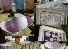 أغراض مطبخ وادوات تنظيف وكماليات منزل وكريمات وصابون