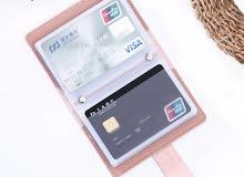 محفظة البطائق Women cardholder