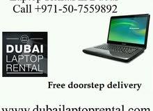 Laptop Rental in Dubai - Contact +971-50-7559892