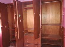 غرفة نوم كاملة خشب لاته22_وفراش عربي كامل ضغط كامل _خزانة طابقين تفصيل وخشب لاته