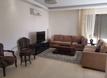 شقة بالصويفية بايجار سنوي -مفروشـة بالكامل بالطابق الثاني -خلف زيت وزعتر