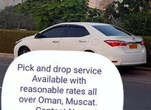 Pick and drop service with  reasonable rates