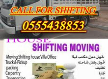 24 hours service shifting and moving home furniture in all emirates 0555438853