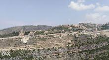 ارض 820م للبيع - كسروان غدراس نمورة