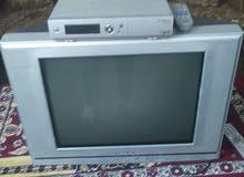 تلفزيون + رسيفر + طقم كنب +طاولة وسطية