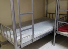 متوفر سرير في غرفة ماستر والشقة هادئه للغايه