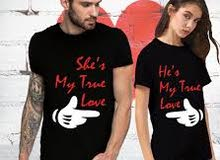 T-shirt couples sold