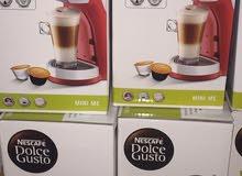 ماكينةالقهوه من شركة نستله بضمان الكترونيات الغانم الضمان سنه +6كبسولات مجانا +