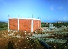 منزل قيد الانجاز 70 متر مربع مبنية + 150 متر مربع غير مبنية