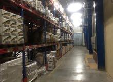 مساحات تخزين حسب أختيار العميل - مستودع مرخص من هيئة الغذاء والدواء