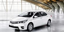 Available for rent! Toyota Corolla 2015