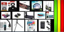 اكسسورات كاميرات احترافية (((((((( جملة )))))((((سعر ممتاز -- فرصة -  )))))