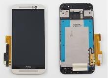 شاشة HTC ONE M9 كاملة بالإطار جاهزة للتركيب