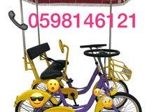 دراجات هوائية اربع كفرات للبيع