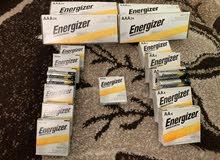 بطاريات Energizer AAA وAA أمريكي بسعر الجملة