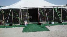 للبيع مخيمين مع كامل تجهيزاتم مع اربع حمامات
