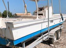 قارب مصنع راس الخيمة 31 قدم مع عربة جديدة