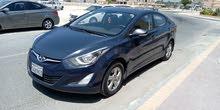 Hyundai Elantra in excellent condition model 2016 (Bahrain agent)