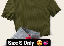 all clothes size S only