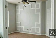 فني ديكورمعلم جميع انواع البويات ...ورق الجدران ..فوم..واستيل...