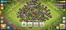 اكونت clash of clans تاون 10 + 2900 gem + و5 builder