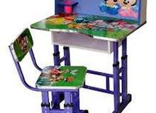 مكاتب دروج مقاعد دراسيه اطفال معدنيه k