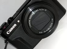 كاميرا كانون G7X Mark ll للبيع