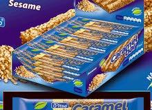 مطلوب شركة لاستيراد وتوزيع حلوة السمسم (جيلجلان) المشهورة  منتج أوروبي للاسواق والمقاهي والصيدليات