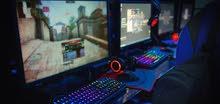 مطلوب gaming pc مستعمل او جديد مع شاشتو لحد 750 دينار