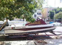 Used Motorboats is up for sale in Aqaba
