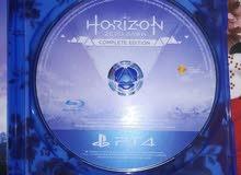 لعبة horizon ps4 استخدام بسيط