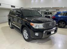 Toyota Land Cruiser VX-R 2013 (Black)