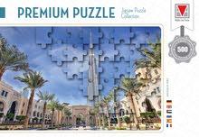 Premium Puzzle - Bur Al Arab , Burj Khalifa, Dubai Marina