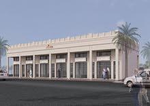 فرصه ارض تجاريه بموقع مميز لبناء معرض على زاويه شارعين رئيسيين بقلب عجمان OO QWR