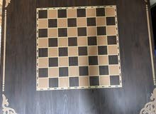 Carrom table with Chess