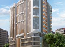 ارض برج للبيع ثالث قطعه على شارع الشيخ محمد بن زايد KBH