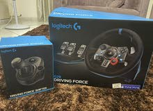 Logitech G290 Driving force racing wheel + gear shifter for PS5,PS4,PS3