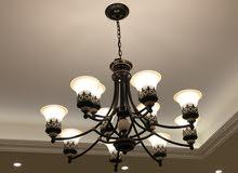 Elegant chandelier set