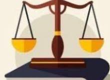 تقديم الاستشارات القانونية وتوكيل بتقديم القضايا وصياغة العقود القانونية