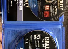 2x Call Of Duty Ghosts/ Advanced Warfare NEGOTIABLE