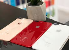 iphone 8 plus . 64 giga . كسر زيرو