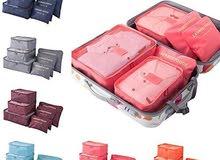 6 محافظ لمجموعة متميزة للترتيب حقيبة السفر
