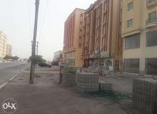 Flats and big showroom for rent in Barka شقق ومعرض للإيجار في بركاء